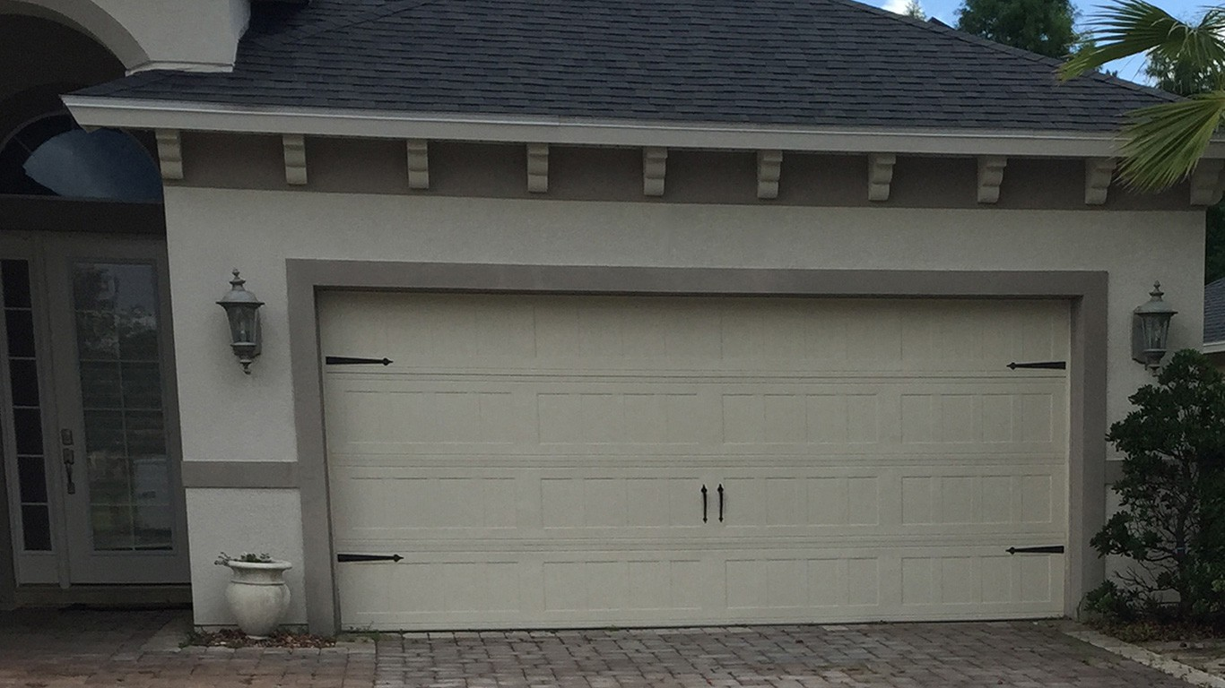 Garage door installation flagler county volusia county for Colonial garage
